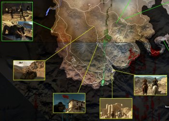Did this fan just figure out the Afghanistan map in MGSV?