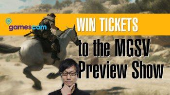 If you can make it to Cologne, Germany on August 13, maybe you should try to win tickets to the MGSV gala