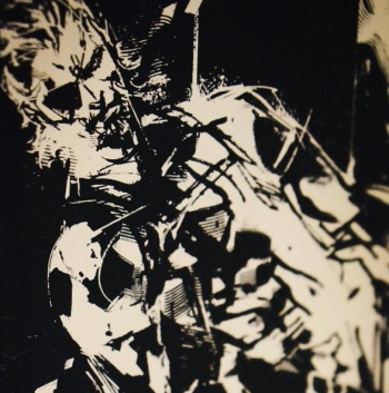This Shinkawa Ground Zeroes artwork is the