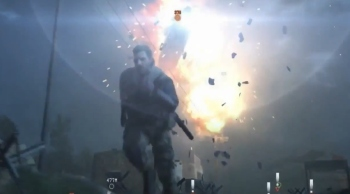Watch Snake turn a jeep into a fulton bomb in the gamescom gameplay demonstration for The Phantom Pain
