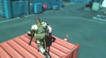 Watch Snake infiltrate some guy's motherbase
