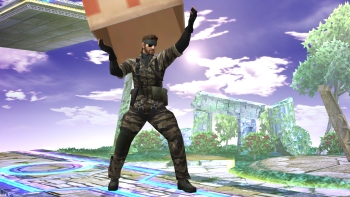 Big Boss confirmed for Super Smash Bros. Brawl mod Project M