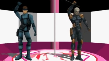 PRESENTED WITHOUT COMMENTARY: MMD - Lookie Looky (feat Solid Snake & Gray Fox)