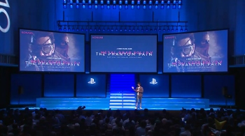 Kojima makes an announcement of an announcement at Sony's pre-TGS presentation...