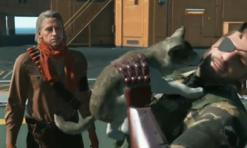 Watch Snake rescue an orphaned wolf in this new MGSV gameplay footage from TGS 2014