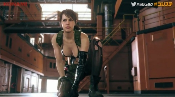 Watch Quiet survive a fall and use invisibility in seconds of new MGSV footage from TGS 2014