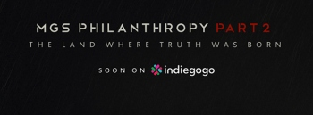 Hive Division to launch Indiegogo campaign for MGS Philanthropy 2 with a 12 minute preview on October 21