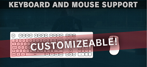 Keyboard and Mouse controls are fully customizable for Ground Zeroes on Steam