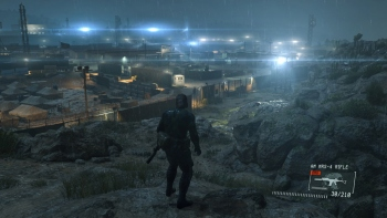 Compare 1080p screenshots of the PS4 and PC versions of Ground Zeroes