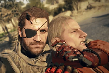Metal Gear Online trailer reveals it will be available with The Phantom Pain and feature selfies
