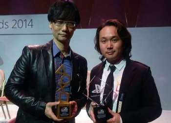 Kojima and Shinkawa just won a shitton of awards at the PlayStation Awards 2014