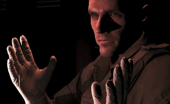 Here is the face of the medic from Ground Zeroes