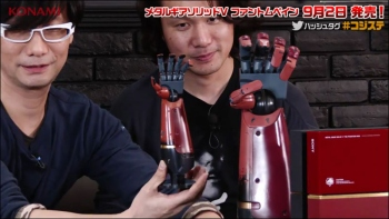Japan gets full sized Big Boss arm in their limited edition The Phantom Pain unlike rest of the world
