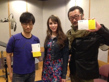 Akio Otsuka gives us the first sight of Hideo Kojima since the Konami restructuring, with Stefanie Joosten