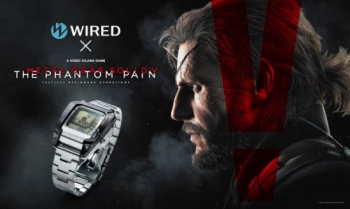 This official The Phantom Pain watch kind of looks like Big Boss' Seiko watch, but not really