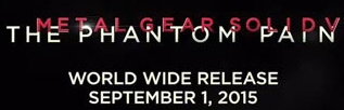 IGN Italy leaks release date for The Phantom Pain