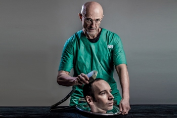 Head transplant doctor on resemblance to MGSV's doctor: