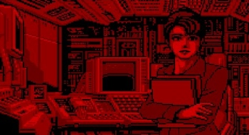 Someone ported Snatcher to Virtual Boy
