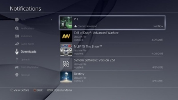 Never delete P.T. from your PS4 because you can't redownload it