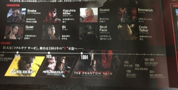 Pamphlets for The Phantom Pain seen in Japanese retailers