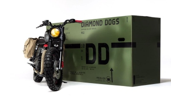The MGSV branded Triumph motorbike you will probably never own