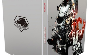 MGSV steelbook with Shinkawa artwork included with Day One Edition on Amazon Europe