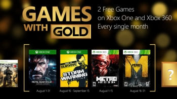 Xbox Live Gold members can download Ground Zeroes for free in August for Xbox One