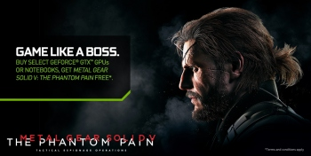 GeForce GTX MGSV: The Phantom Pain bundle is official