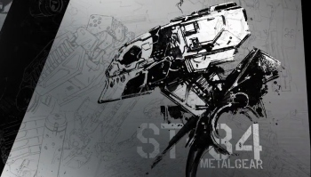 MGSV's Metal Gear is called ST-84, as revealed by video showing bits of artbook