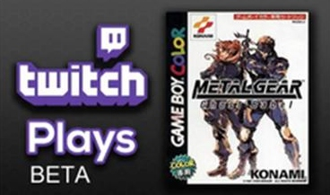 Twitch is playing Metal Gear: Ghost Babel right now