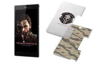Sony is releasing Outer Heaven themed Walkmans, smartphones and tablets for MGSV's release