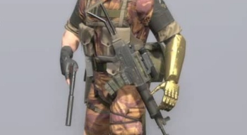 Steam update for MGSV removed Golden Arm and Sniper Wolf costume