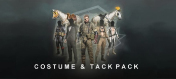 Okay, okay NOW you can unzip for tactical advantages in the MGSV Costume & Tack Pack