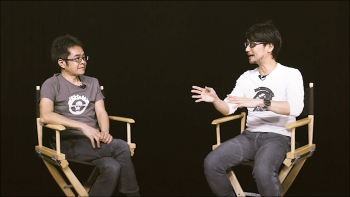 Second episode of HideoTube is basically just Kojima and Yano in a black room talking about movies again