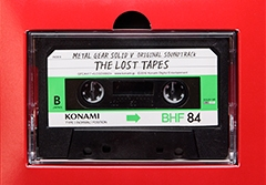 Here is the actual cassette tape for MGSV soundtrack
