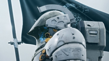 This is Kojima Productions' mascot LUDENS' body