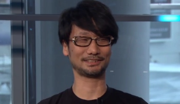 Surprise! Hideo Kojima shows up at E3 2016 to talk to Geoff Keighley