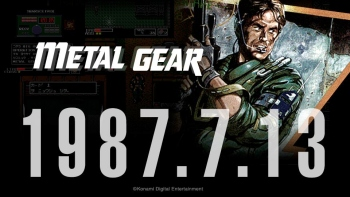 Metal Gear series is now 30 years old
