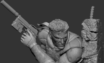 First 4 Figures is already fixing their MGS1 Snake statue