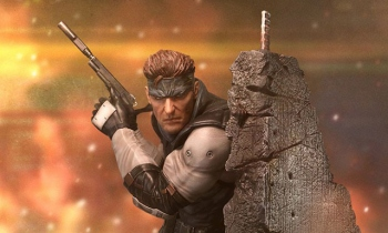 First 4 Figures to release MGS1 Solid Snake statue