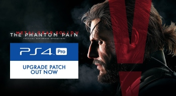 The Phantom Pain recieves PS4 Pro patch