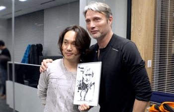 Shinkawa finds working with actors makes character design