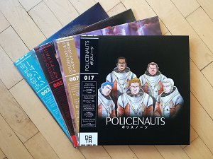 Policenauts OST record by Data Discs is back in stock