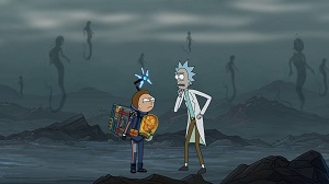 There is a Rick & Morty ad for Death Stranding. Yes, really.